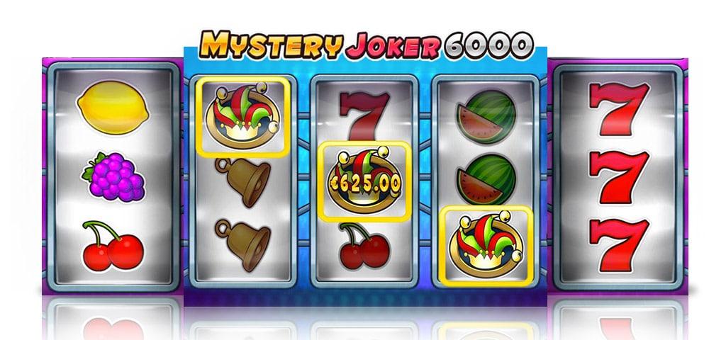 Play Mystery Joker 6000 at Karamba