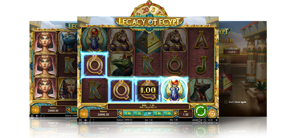 Play Legacy of Egypt